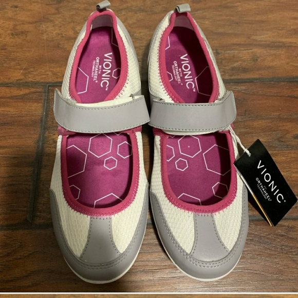 Nwt Vionic Mary Jane Sneakers